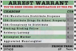Screenshot of Dope War
