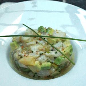 Sea bass Tartare with citrus