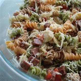 Rainbow Pasta Salad II