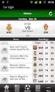 Spanish La Liga 2011 12