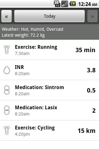 INR Tracker- screenshot