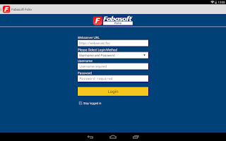 Screenshot of Fabasoft Folio