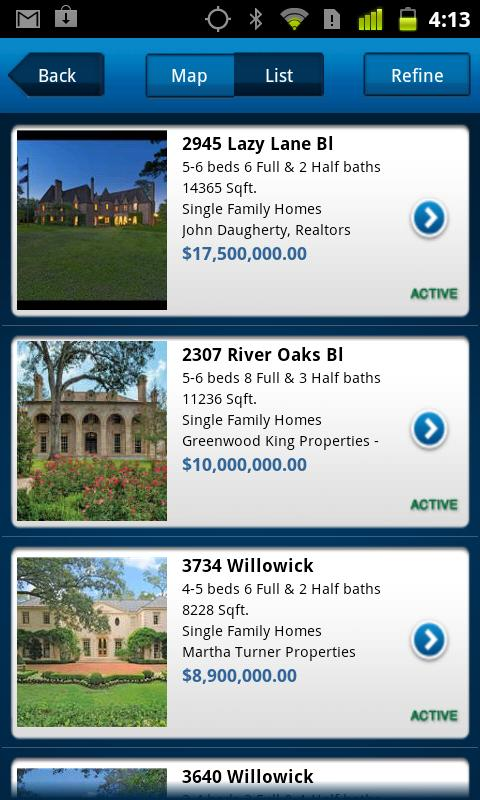 HAR.com Houston Real Estate - screenshot