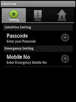 Screenshot of Phone Locator and SIM Detector