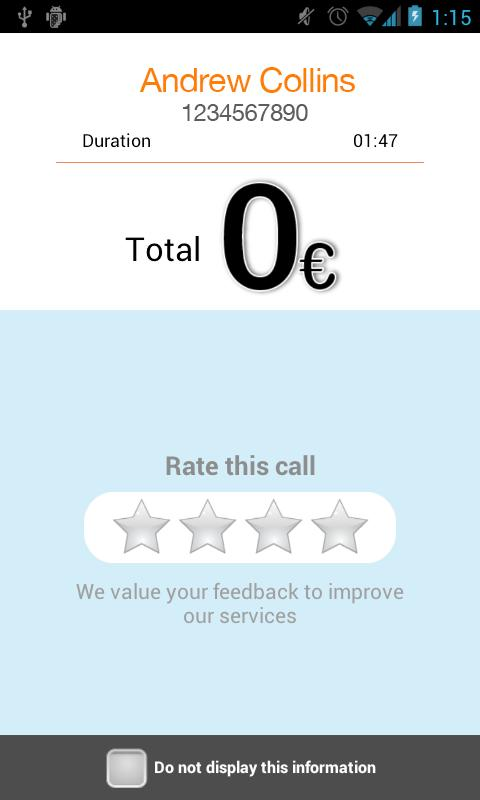 Beeztel: Free Calls & SMS - screenshot
