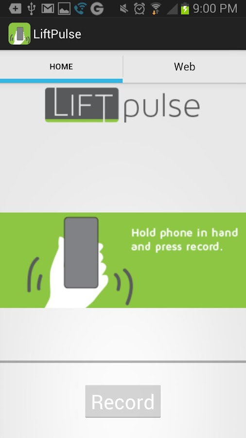Lift Pulse- screenshot
