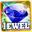 Jewels Island: Match 3 Game logo