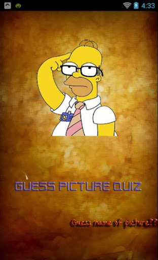 Guess Picture Quiz