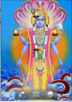 Screenshot of Lord Vishnu Live Wallpaper
