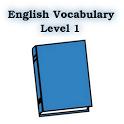 English Vocabulary Level 1 icon