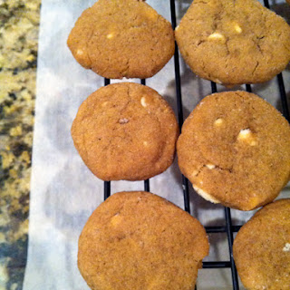 Soft Gingersnap Cookies with White Chocolate Chips Recipe