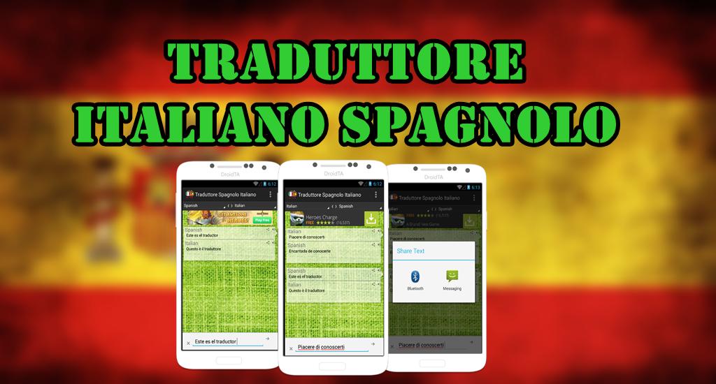 Traduttore italiano spagnolo android apps on google play for Traduzione da spagnolo a italiano