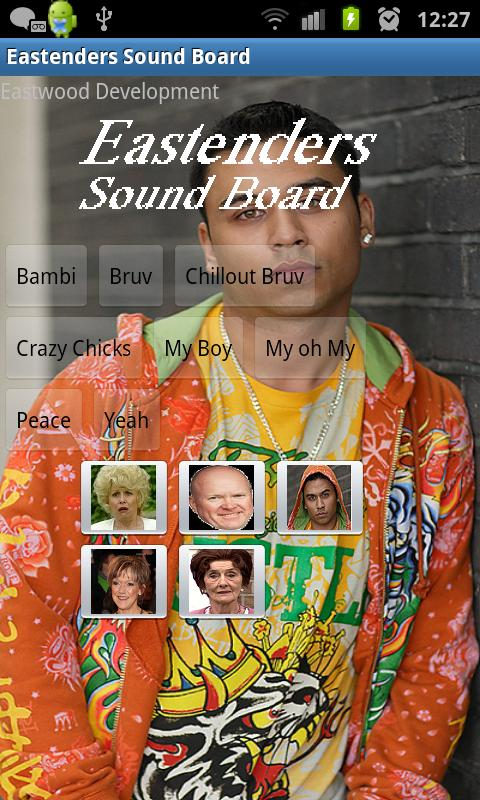 Eastenders Soundboard - screenshot