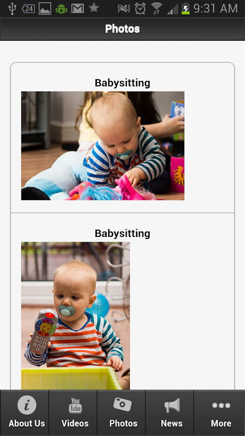 Babysitting - screenshot