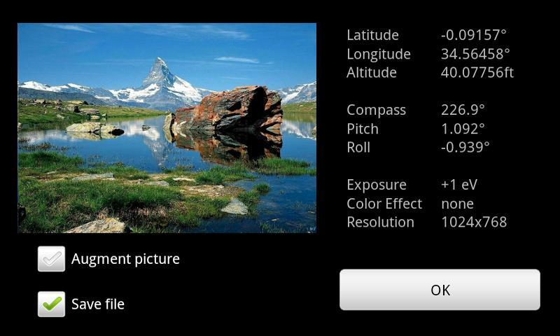 Geocam Pro- screenshot