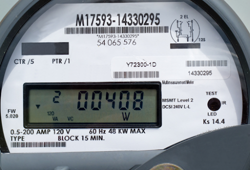 We Save - New Electricity Meter Installation