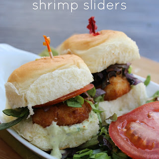 Cilantro-Lime Shrimp Sliders