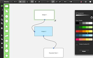 Screenshot of Diagrams.me Pro