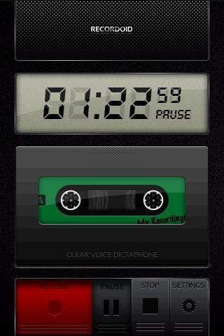 Recordoid Dictaphone Lite- screenshot
