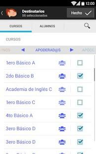 Papinotas Profesores screenshot