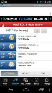 KCCI 8 News and Weather - screenshot thumbnail