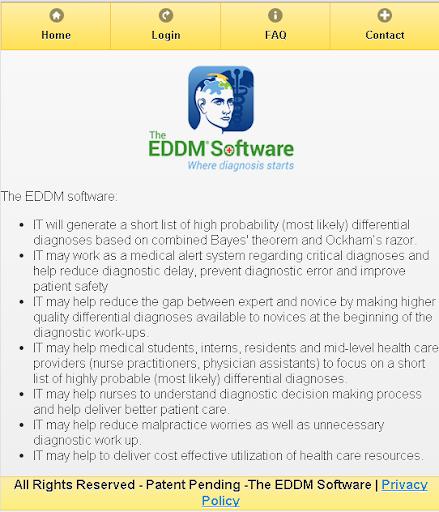 The EDDM