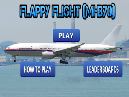 Flappy Flight (MH370) - screenshot thumbnail