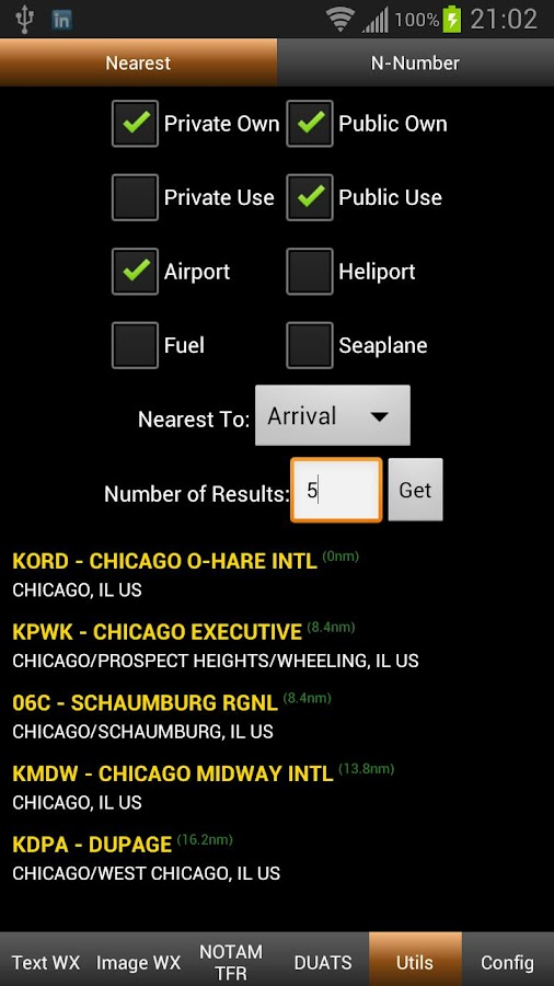 FlightBriefer Aviation Weather - screenshot