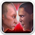 Talking Putin meets Obama icon