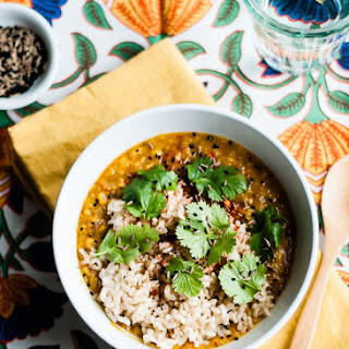 Slow Cooker Red Lentil Dal.