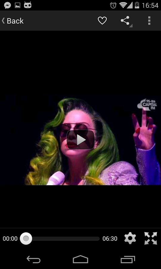 Lady Gaga (POP) Club - screenshot