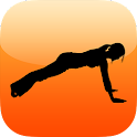 Push ups fitness workout free icon