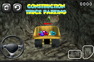 Screenshot of construction truck parking HD