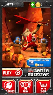 Santa Rockstar Screenshot 2