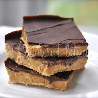 No Bake Cafeteria Peanut Butter Bars