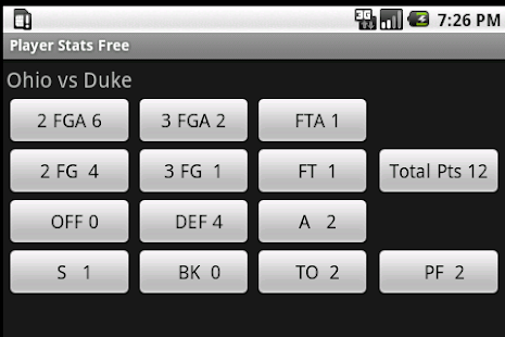 Basketball Player Stats Free - screenshot thumbnail