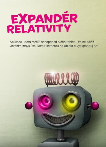 Expandér relativity