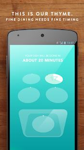 Thyme - Kitchen Timer FREE- screenshot thumbnail