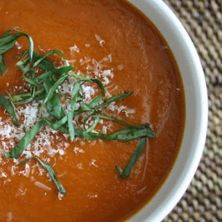 Tomato Basil Soup With Fresh Tomatoes Recipes.