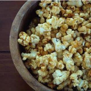 Microwave Caramel Popcorn.