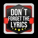 Don't Forget the Lyrics 2 icon
