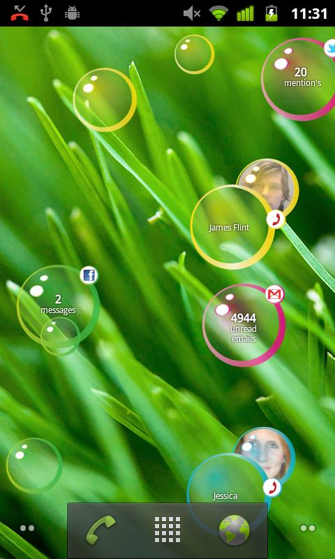 Notification Bubbles Free - screenshot