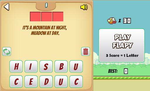 Floppy Riddle Bird