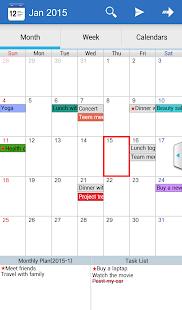 Caros Calendar& Diary& Planner - screenshot thumbnail