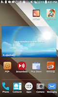 Screenshot of L Theme LG devices: Android L