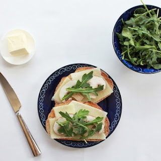 Five-Ingredient Pecorino-Cremini Sandwiches