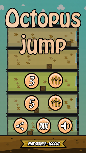 5 Octopus - jumping game