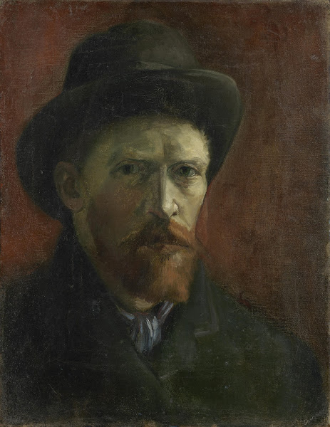 Vincent van Gogh - Self-Portrait with Felt Hat - Van Gogh Museum