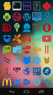 Stamped Icons- screenshot thumbnail