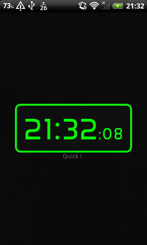 Quick Clock- screenshot